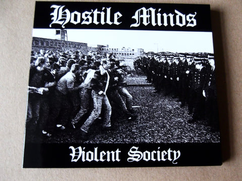 HOSTILE MINDS violent society CD - Savage Amusement