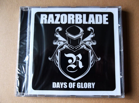 RAZORBLADE days of glory CD - Savage Amusement