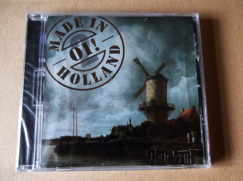 v/a OI! MADE IN HOLLAND pt2 CD - Savage Amusement