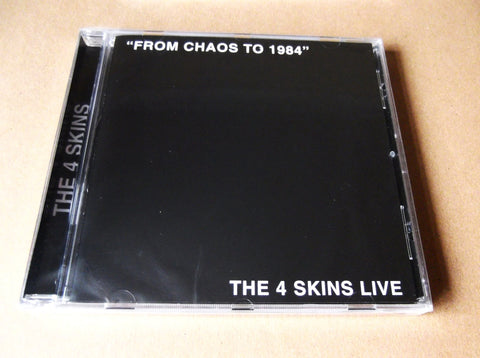 4SKINS from chaos to 1984 CD - Savage Amusement