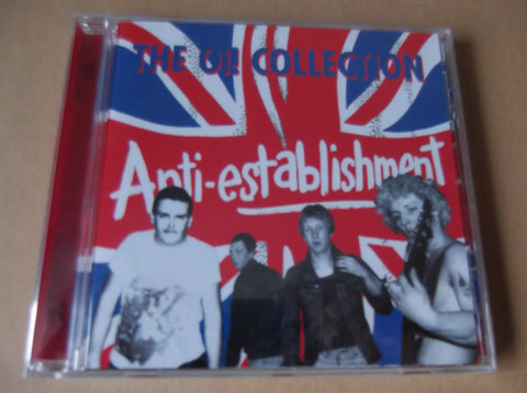 ANTI ESTABLISHMENT the oi! collection CD - Savage Amusement