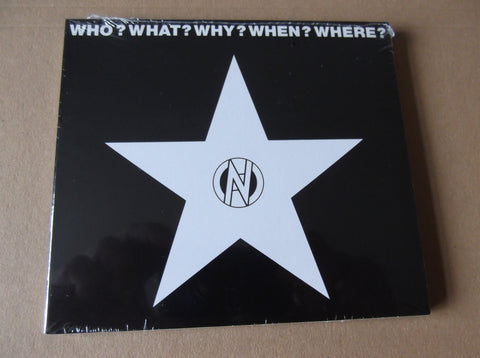 v/a WHO? WHAT? WHY? WHEN? WHERE? CD - Savage Amusement