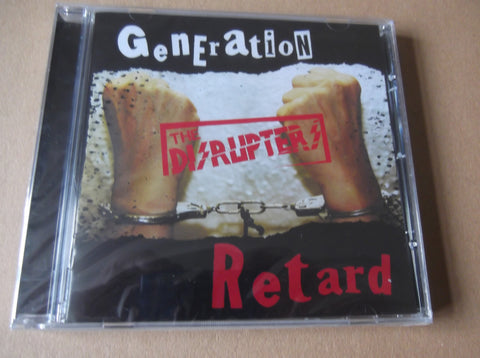 DISRUPTERS generation retard CD - Savage Amusement