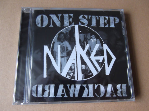 NAKED one step backward CD - Savage Amusement