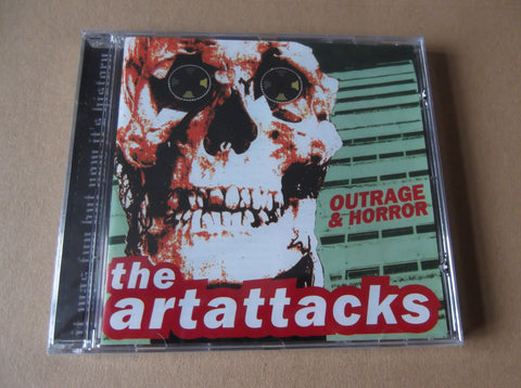 ART ATTACKS outrage & horror CD - last copies! - Savage Amusement