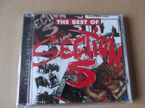 SECTION 5 best of section 5 CD - Savage Amusement