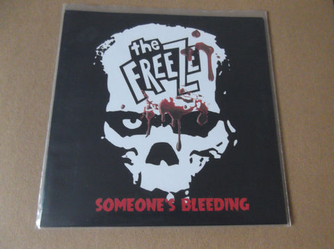 "THE FREEZE someone's bleeding 7"" BLACK - Savage Amusement"