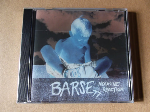 BARSE - Negative Reaction CD INSANE PRICE TO CLEAR! - GOOD 77 STYLE PUNK - Savage Amusement