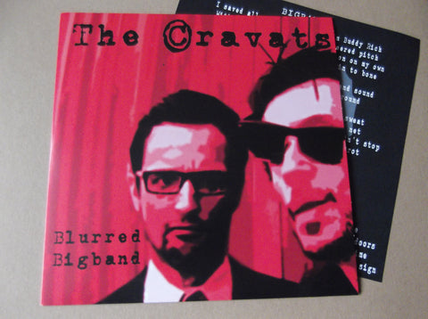 "THE CRAVATS blurred 7"" - Savage Amusement"