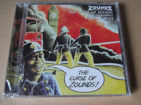 ZOUNDS the curse of zounds discography CD