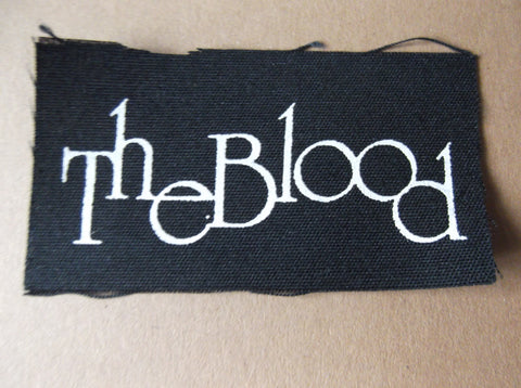 THE BLOOD cloth PATCH