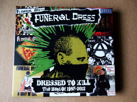 FUNERAL DRESS dressed to kill - the best of DBLE CD - Savage Amusement