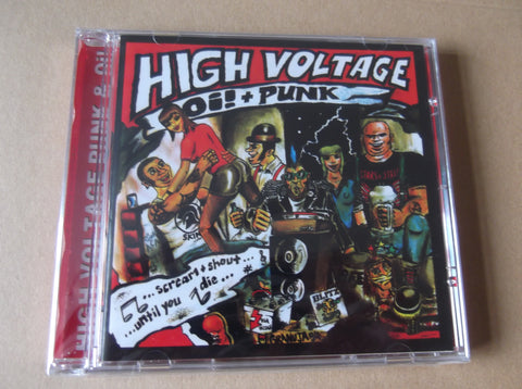 v/a HIGH VOLTAGE OI! & PUNK CD - Savage Amusement