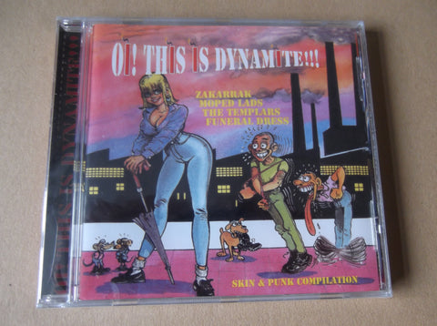 v/a OI! THIS IS DYNAMITE CD - Savage Amusement