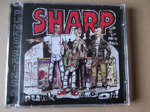 v/a SHARP PUNK & OI! CD - Savage Amusement