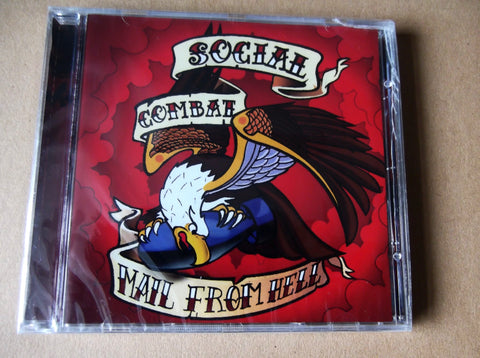 SOCIAL COMBAT mail from hell CD - Savage Amusement
