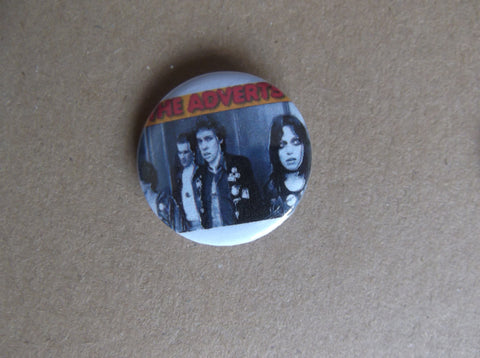 THE ADVERTS punk badge VARIOUS DESIGNS - Savage Amusement