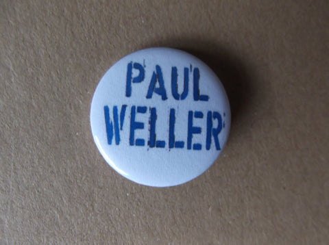 PAUL WELLER mod indie badge - Savage Amusement