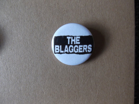 THE BLAGGERS oi! punk badge - Savage Amusement