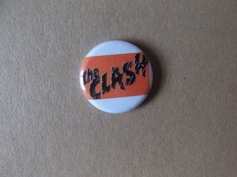 THE CLASH punk badge (VARIOUS DESIGNS - 50p each) - Savage Amusement