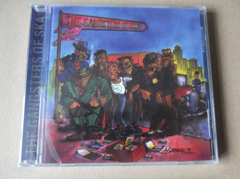 v/a THE GANGSTERS OF SKA CD - Savage Amusement