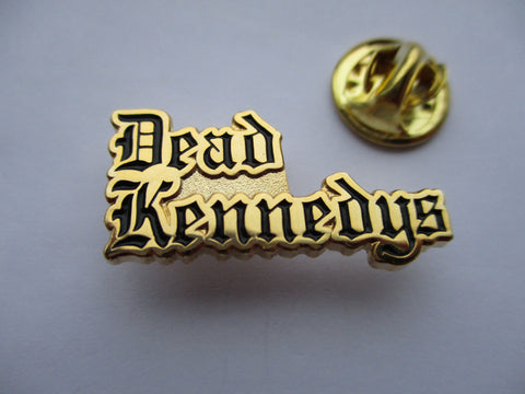 DEAD KENNEDYS logo PUNK METAL BADGE