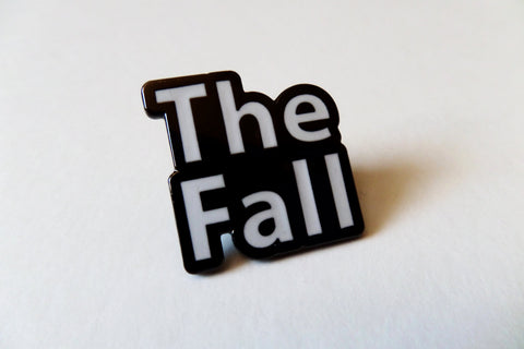 THE FALL  b&w post punk  METAL BADGE - Savage Amusement