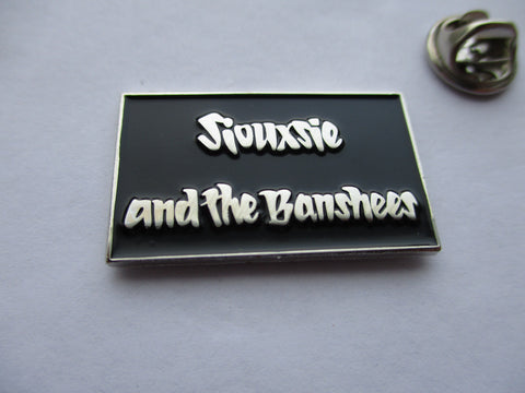 SIOUXSIE & THE BANSHEES PUNK METAL BADGE ultra limited - few only!