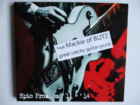 EPIC PROBLEM 11-14 CD (17tr digipak feat MACKIE from BLITZ on guitar)