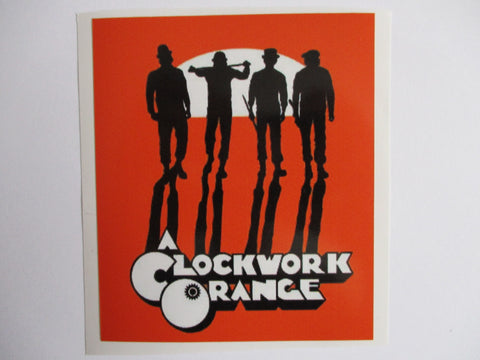 CLOCKWORK ORANGE DROOGS large OI! SKA PUNK VINYL STICKER