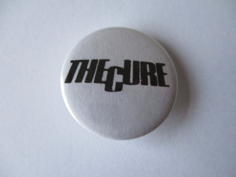 THE CURE punk badge VARIOUS DESIGNS - 50p each