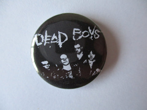 DEAD BOYS punk badge