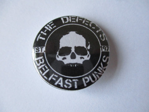 THE DEFECTS punk badge