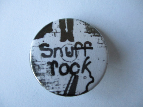ALBERTOS - SNUFF ROCK punk badge