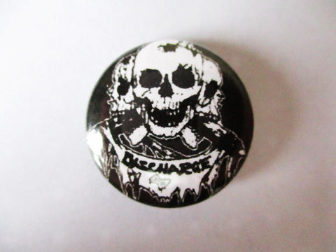 DISCHARGE punk badge (one only!)