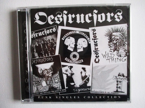 THE DESTRUCTORS the punk singles CD