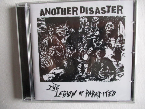 LEGION OF PARASITES another disaster CD - UK80s Punk/HC - SALE!