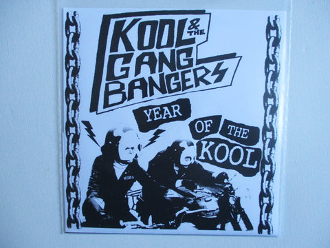 "KOOL & THE GANG BANGERS year of the kool 7"" (77 style Punk , NFT)"