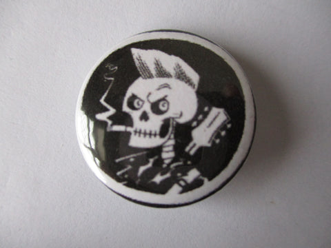 PSYCHOBILLY punk badge