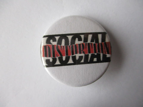 SOCIAL DISTORTION punk badge
