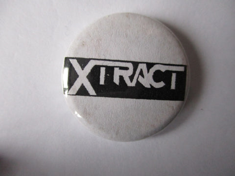 XTRACT punk badge - one only (slight discolouration)