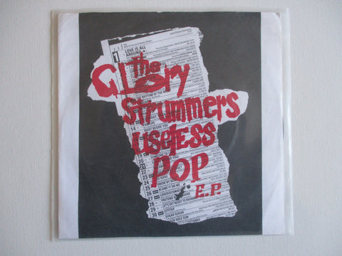 "THE GLORY STRUMMERS useless pop 7"" VG EX (Clash / Manics style 90s punk)"
