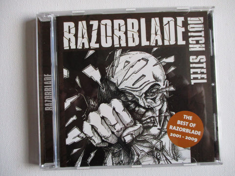 RAZORBLADE dutch steel the best of CD light creasing to back sl