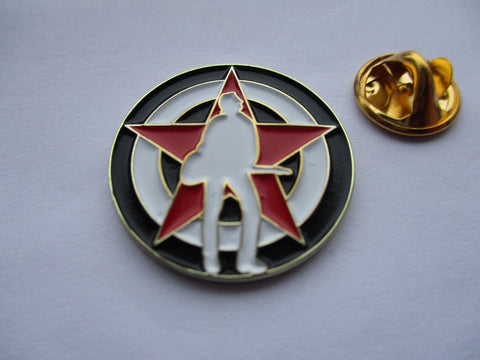 Punk enamel pin metal badge