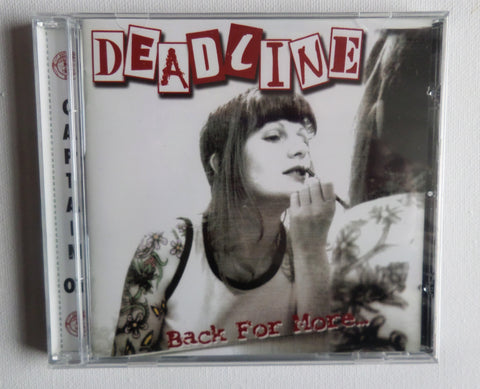 DEADLINE back for more CD (Captain Oi!) SALE! now £2.99