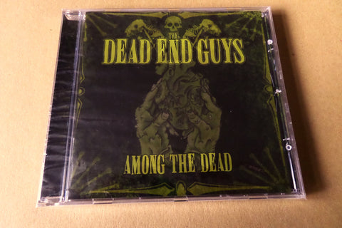 DEAD END GUYS among the dead CD (CONTRA recs HORROR PUNK like MISFITS etc) SALE!! - Savage Amusement