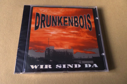 DRUNKENBOIS wir sind da CD CONTRA RECS OI! - Savage Amusement
