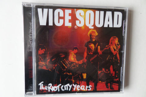 VICE SQUAD the riot city years CD (Westworld version) - Savage Amusement