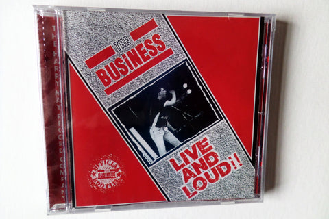 THE BUSINESS live & loud CD - Savage Amusement