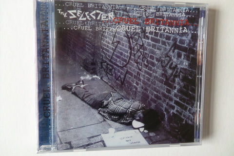 THE SELECTER cruel britannia CD - Savage Amusement